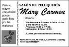 Peluquería Unisex Mari Carmen